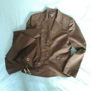 Mexx brown 2 piece suit